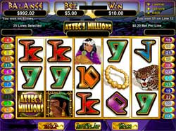 Play Aztec's Millions Slot Game at Club SA