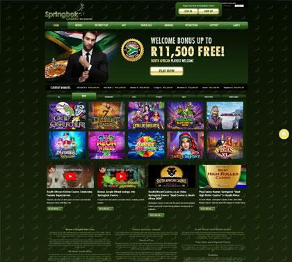 springbok casino bonus